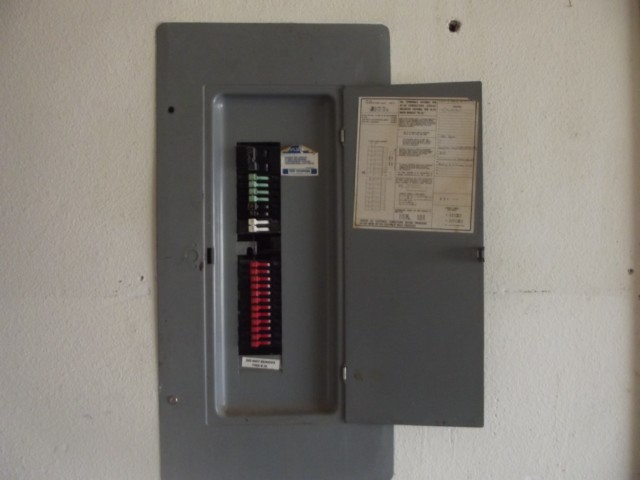 GTE-Sylvania electrical panel